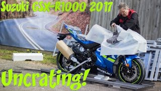Download 2017 Suzuki GSX-R1000 Uncrating! Video