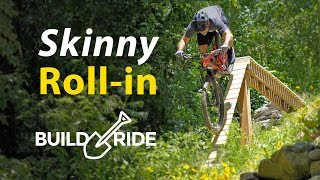 Download Backyard MTB Drop with Steep Roll in! | Build & Ride Video