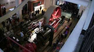 Download Starting The Big Red Corliss Steam Engine Video