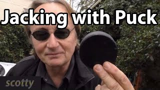Download Jacking Up Your Car With A Hockey Puck Video