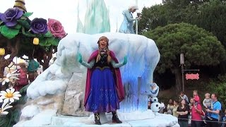 Download Disney Magic on Parade at Disneyland Paris with Anna, Elsa, Olaf FROZEN, Rapunzel, Sorcerer Mickey Video