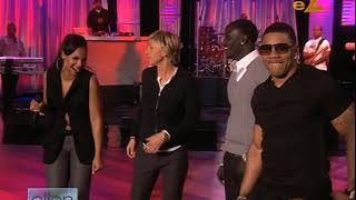 Download Nelly, Ashanti & Akon interview on Ellen 2008 Video