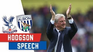 Download Roy's End of Season Speech Video
