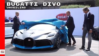 Download Bugatti Divo Unveiling Video