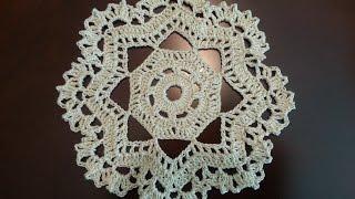 Download Crochet Mini Doily - Octagonal Pattern Video