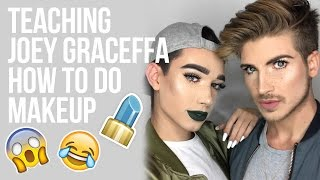 Download TEACHING JOEY GRACEFFA HOW TO DO MAKEUP! Video