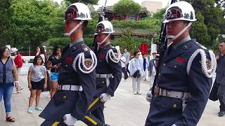 Download 20180617忠烈祠(National Revolutionary Martyrs' Shrine, Taipei)陸軍儀隊交接1600及閉殿哨 Video