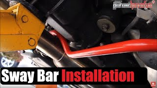 Download Sway Bar and End Links Installation (Nissan 350Z) Video