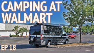 Download Spending the Night at Walmart | EP 18 Camper Van Life Video