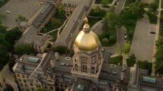 Download University of Notre Dame and South Bend Aerial Video