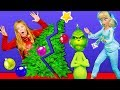 Download The Grinch goes with the Assistant to a Holiday party with PJ Masks and Paw Patrol Video