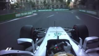 Download 2017 Azerbaijan Grand Prix | Lewis Hamilton Onboard Pole Lap Video