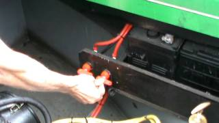 Download Starting a Narrowboat Engine Video