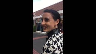 Download Lara After Work Shopping Pumps 6″inch 15cm High heels no platform cute fail sexy walk public Video