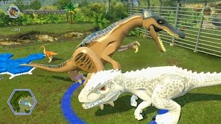 Download LEGO Jurassic World game 🎮 ALL dinosaurs demoed! Video