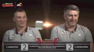 Download Protų kovos: Šarūnas Jasikevičius prieš Darių Maskoliūną Video