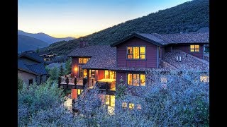 Download Modern Mountain Home with Panoramic Views in Park City, Utah Video