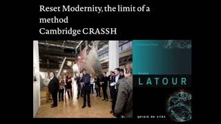 Download Bruno Latour: Reset Modernity - the limit of a method Video