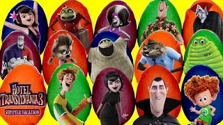 Download 15 HOTEL TRANSYLVANIA 3 Play-Doh Surprise Toy Eggs with Mavis, Dennis, Johnny & Drac Video