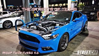 Download Twin Turbo Mustang vs Texas Streets (SMURF BEATS EVERYTHING) - TX2K18 Video