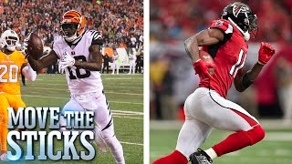 Download Better Receiver: Julio Jones or A.J. Green?   Move the Sticks Video