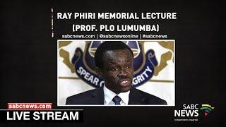 Download Prof. PLO Lumumba delivers Ray Phiri Memorial Lecture Video