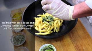 Download Garlic Blue Cheese Fries Video