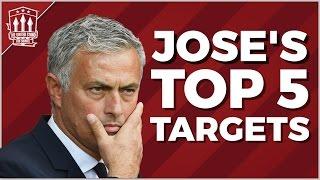 Download JOSE MOURINHO'S TOP SECRET MAN UTD TRANSFER TARGETS Video