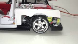 Download REAL AIR BAGGED 1:24 scale Maisto All Star diecast car VW 1600 Squareback Video