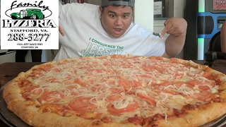 Download Massive 28 inch 11+ lb Team Pizza Challenge Video