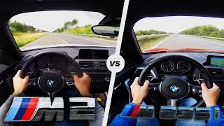 Download BMW M2 vs M235i Acceleration Test Drive Autobahn & Sound Video