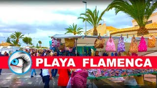 Download PLAYA FLAMENCA MARKET - STREET MARKET - TORREVIEJA - 4K SPAIN Video