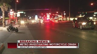 Download Motorcyclist receives serious injuries in crash Video