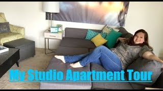 Download MY STUDIO APARTMENT TOUR! | 475 SQ FT | DAY & NIGHT Video