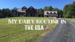Download MY DAILY ROUTINE IN THE USA!!! Video