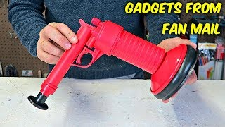 Download 10 Gadgets From Fan Mail put to the Test! Video