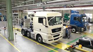 Download MAN Trucks Production Video