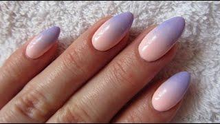 Download Pink and blue pastel ombre - NeoNail - Jak zrobić poziome ombre gąbeczką na hybrydach Video