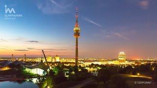 Download Olympia Park München Zeitraffer Video