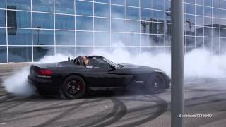 Download ″800HP″ Dodge Viper SRT-10 crazy Donuts !! + Start Video