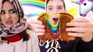 Download UNICORN RAINBOW GRILLED CHEESE SANDWICH!! Video
