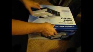 Download Harbor Freight 2000 / 4000 watt inverter. New model !!!!!!!!!!!! Video