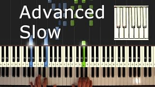 Download Beethoven - Moonlight Sonata - Piano Tutorial Easy SLOW - How To Play (synthesia) Video