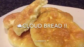 Download CLOUD BREAD 3 ingredients! ☁️☁️☁️ Video