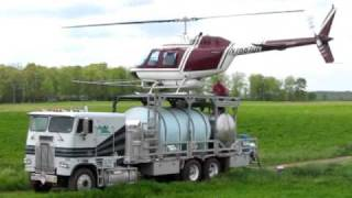 Download Spraying with a Helicopter Video