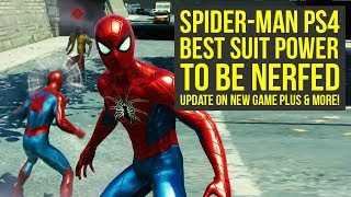 Download Spider Man PS4 New Game Plus UPDATE FROM DEV, Suit Power Nerfed & More (Spiderman PS4 New Game Plus) Video