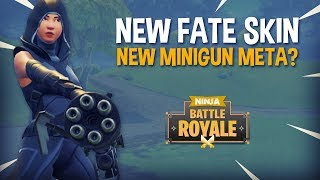 Download 14 Frag Win NEW FATE Skin NEW Minigun Meta? - Fortnite Battle Royale Gameplay - Ninja Video