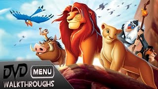 Download The Lion King (1994, 2011) DvD Menu Walkthrough Video