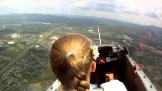 Download Lillymae's First Solo Flight Video