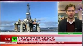 Download Oil prices surge as OPEC reaches deal to cut production by 1.2 million barrels Video